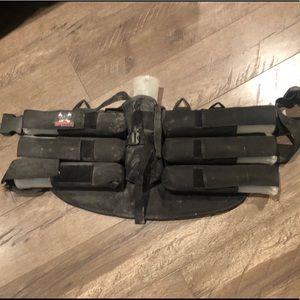 Paint ball ammunition holder